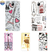 OnePlus 3 / 3T Phone Case One Plus 2 Shell Coque 5.5 Inch Cover Soft TPU Pair Girl Design Painted - WISAPI Store store