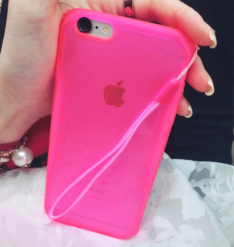 Etui iPhone 6 4.7″ | sylikonowe etui z paskiem