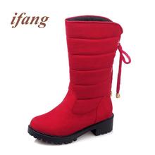 Ifang botines Bowtie lace up Mujeres Martin Botas de Invierno Botas de Nieve botas de Mujer Zapatos de las mujeres Más El tamaño de Las Mujeres 34-52(China (Mainland))