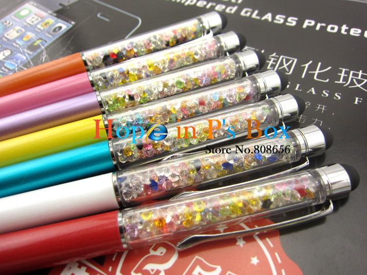 Crystal Ipad Stylus Stylus 4pc 2 in 1 Crystal