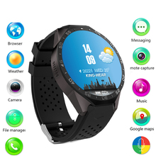 Buy KingWear KW88 Smart Watch Android Bluetooth Smartwatch Phone 1.39 inch support 3G wifi Heart Rate android IOS Mobile phone for $92.65 in AliExpress store