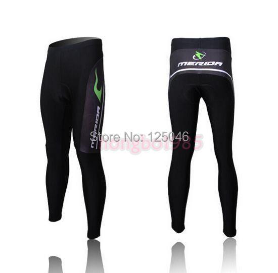 Men's MERIDA Cycling long Pants Only Running Trousers Cycling Bike Riding cycling Padded Pants
