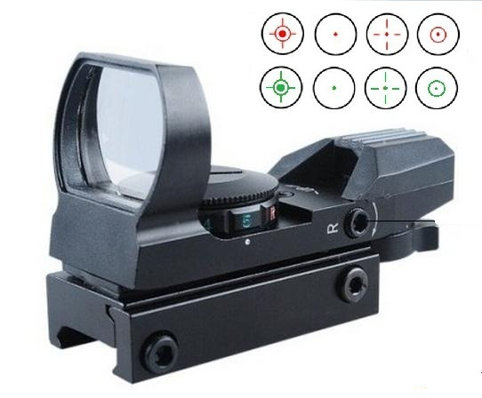 Electro Red and Green Dot Sight Rifle Scope for airsoft Electro Red and Green Dot Sight Rifle Scope gun guns 11 or 21mm mount