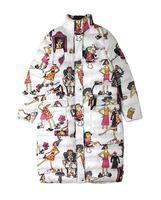 Women's Parkas Print Loose Korean Style Casual Europe-American Fashion Winter 2015 New Q5477-1