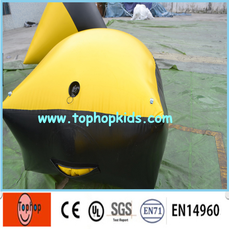 2016 Popular Factory Direct Inflatable Paintball Bunker Paintball Barrier Air Bunker for Sale(China (Mainland))