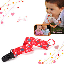 Boy Girl Baby Dummy Pacifier Soother Nipple Leash Strap Chain  Holder Clip Gifts  #68162