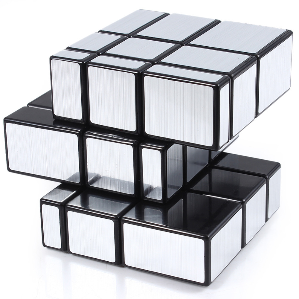 3x3x3 Mirror Blocks Shiny Magic Cube Puzzle Brain Teaser IQ Kid Funny Magic Cubes Magic Cube Puzzle Education Toy Magic Cubes(China (Mainland))