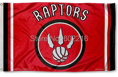 Toronto Raptors Large Outdoor Flag 3FTX 5FT(China (Mainland))