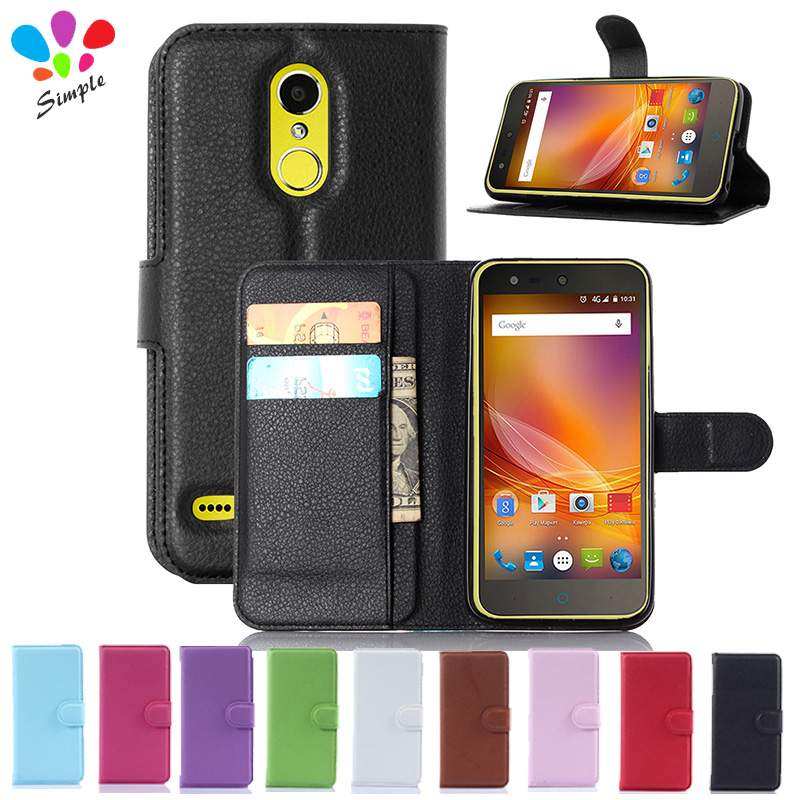 For ZTE Blade X5 D3 Case Luxury Wallet PU Leather Case Cover  For ZTE Blade X5 D3 Flip Protective Cell Phone Shell Back Cover