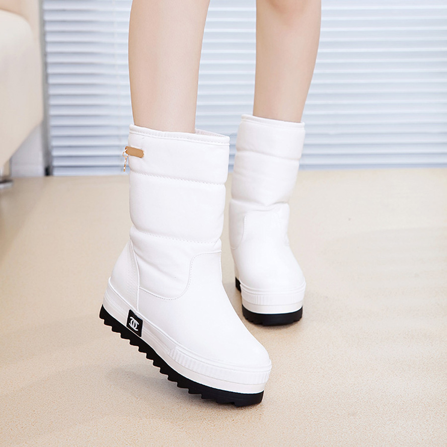 Snow Boots White - Cr Boot