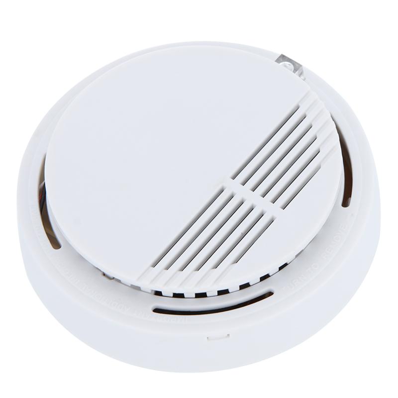 High Sensitivity Fire Smoke Alarm Sensor Standalone Photoelectric Smoke Detector Home Security