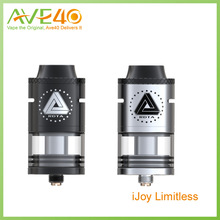 iJoy Limitless Two Post RDTA Tank 4ml Juice Capacity Dual Slotted Direct Airflow Vs IJOY Acme Vape Tank