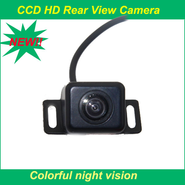 2015 New Waterproof CCD Universal HD Car Rear view BackUp Reverse Parking Camera For all kinds of cars Dropshipping(China (Mainland))