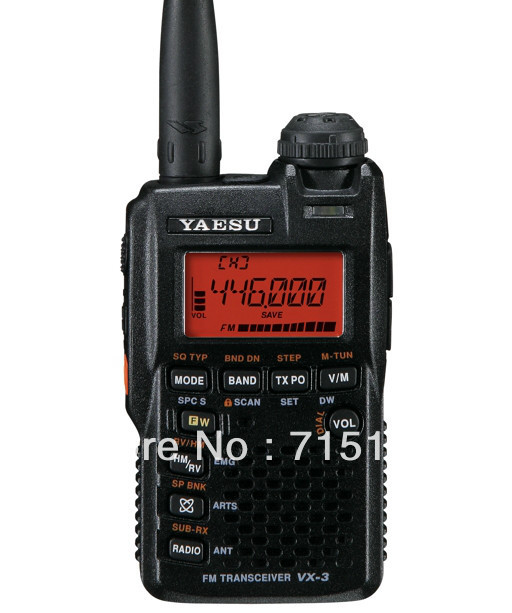 Yaesu VX-3R radio Ultra-compact Dual Band Handheld FM Transceiver/two way radio/yaesu interphone(China (Mainland))