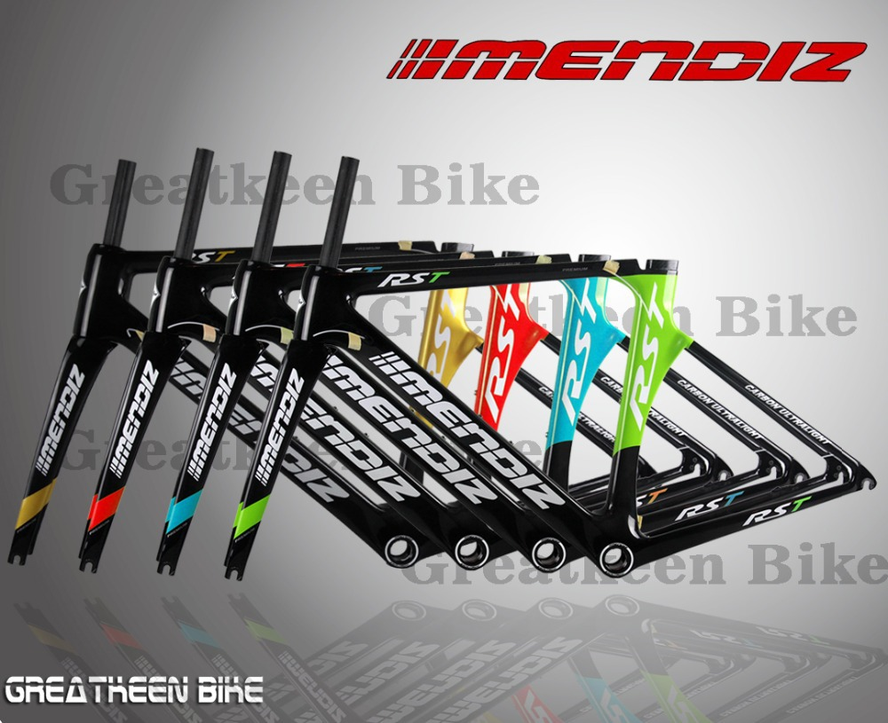 2015 MENDIZ RST PREMIUM Full Carbon road bike frame carbon bicycle frame cycling frameset DE ROSA bh g6 seatpost clamp(China (Mainland))