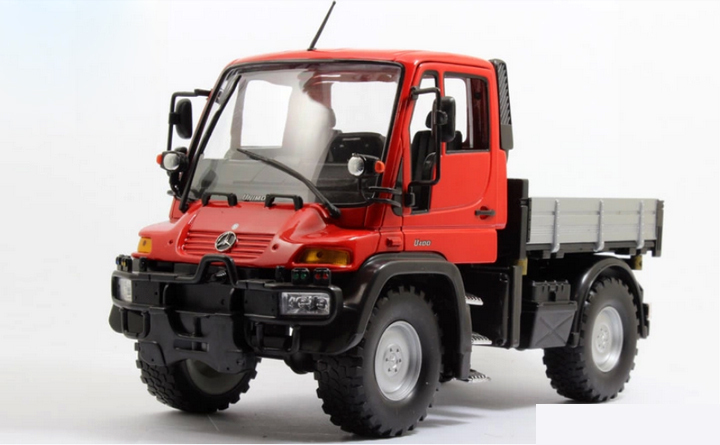 welly 1:24 Unimog U400 SUV red color alloy metal model car toy collection gift(China (Mainland))