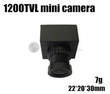 FPV aerial webcam Mini Micro 1200TVL HD camera for cross racing quadcopter QAV180 / QAV210 mini drone