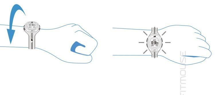Nb профессиональные открытый mutifunction виды летние сердечного ритма ночь работает часы 50 м водонепроницаемый, Автоматическое управление яркостью подсветки