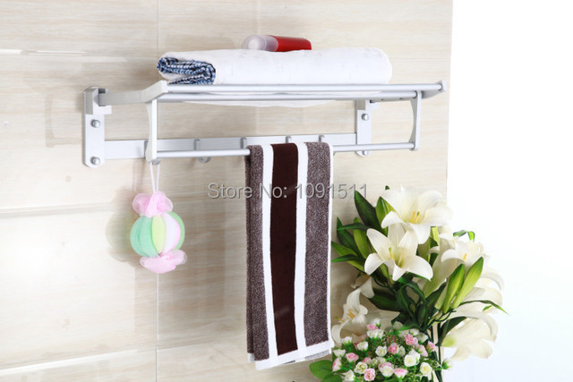 Toalla de ba o barra toallero ba o toallero toallero for Set bano toallero