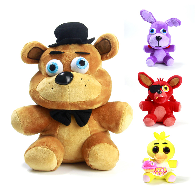 Foxy stuffed plush doll toy 10 quot from reliable toy magnetic fishing