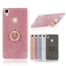 Buy Clear Soft TPU Case Bling Glitter Paper Metal Phone Stand Holder Back Cover BBK Vivo X6 Plus X7 X7plus X9 Y67 V5 V3 Max Y51 for $2.16 in AliExpress store