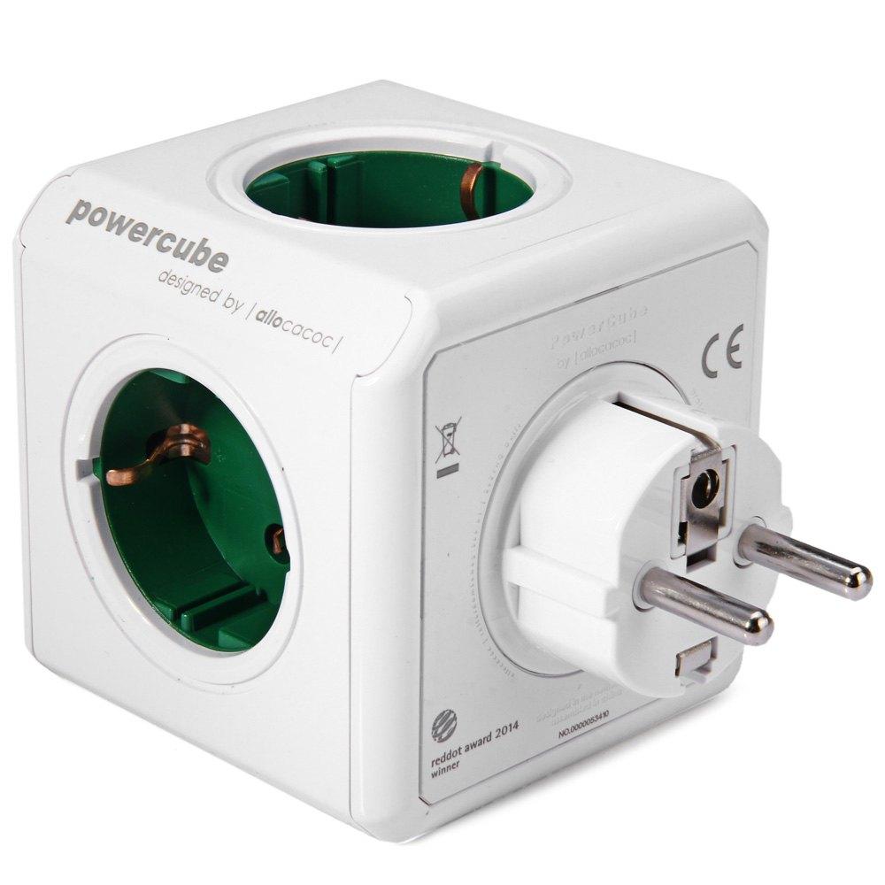 Allocacoc Charging Dock Original PowerCube Socket EU Plug 5 Outlets Adapter-16A 250V 3680w Power Cube(China (Mainland))