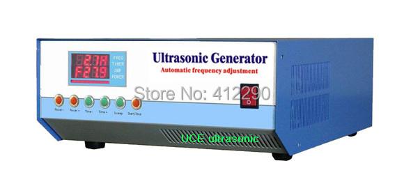 1200W Triple Frequency Ultrasonic Generator UCE-SSS1200W,Ultrasonic Frequency Generator,cleaning generator(China (Mainland))