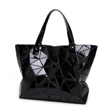 Fashion Diamond Women Bao Bao Bags Geometry Quilted baobao Handbag bag Women 2016 Geometric tote Quilted Laser Shoulder Bag(China (Mainland))