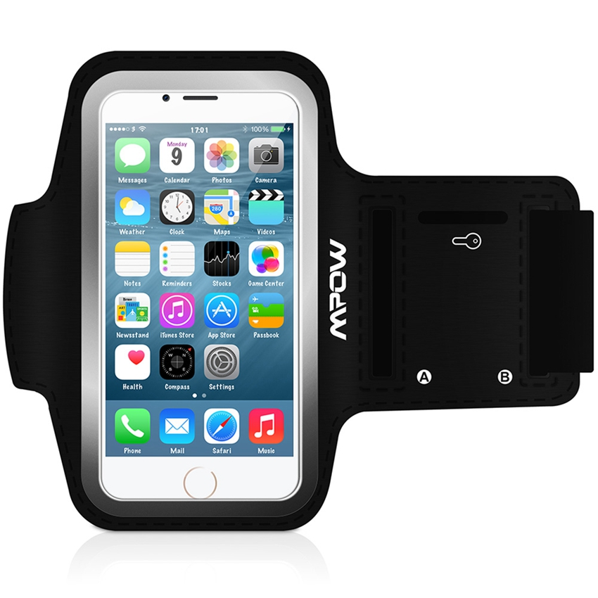 Mpow MSA2 Fashion Cover Sport Case Armband For iPhone 6 6S 4.7 Holder Waterproof Running Riding Cases Arm Band for iphone6(China (Mainland))