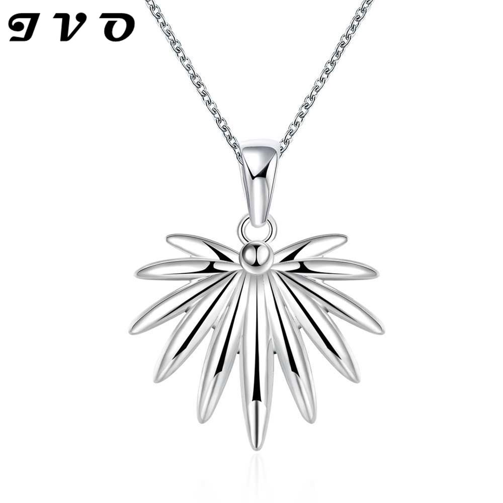 top design idea plant maple leaf pendant for women hot brand new fashion popular 18inch chain necklace jewelry gift wholesale(China (Mainland))