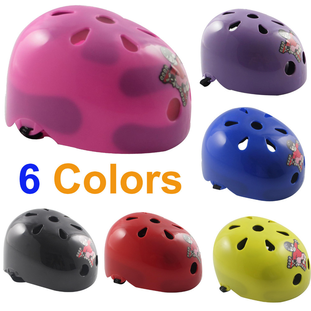 Child Kids Cycling Helmet  Bicycle Bike Skating Hip-hop Roller Motorcycles Children Skateboard Scooters Protect Helmet(China (Mainland))