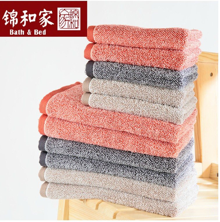 100% Cotton towels soft and absorbent thickened Ruixue small towel Optimization of combed cotton untwisted yarn weaving towels(China (Mainland))