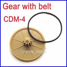 Frete grátis cdm4 cdm-4 engrenagem com cinto de substituição para philips marantz(China (Mainland))