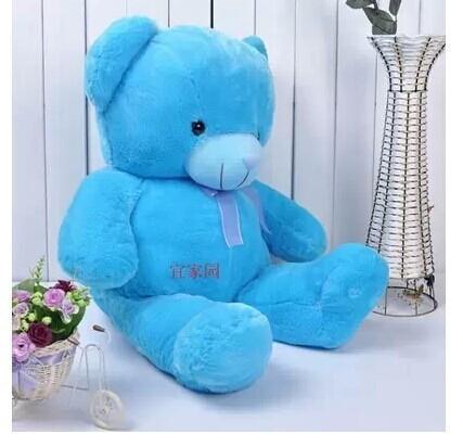 stuffed animal teddy bear blue bear 60cm plush toy soft doll gift w2394(China (Mainland))