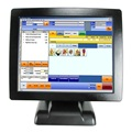 China OEM all in one restaurant pos system cash register touch screen pos pc with customer