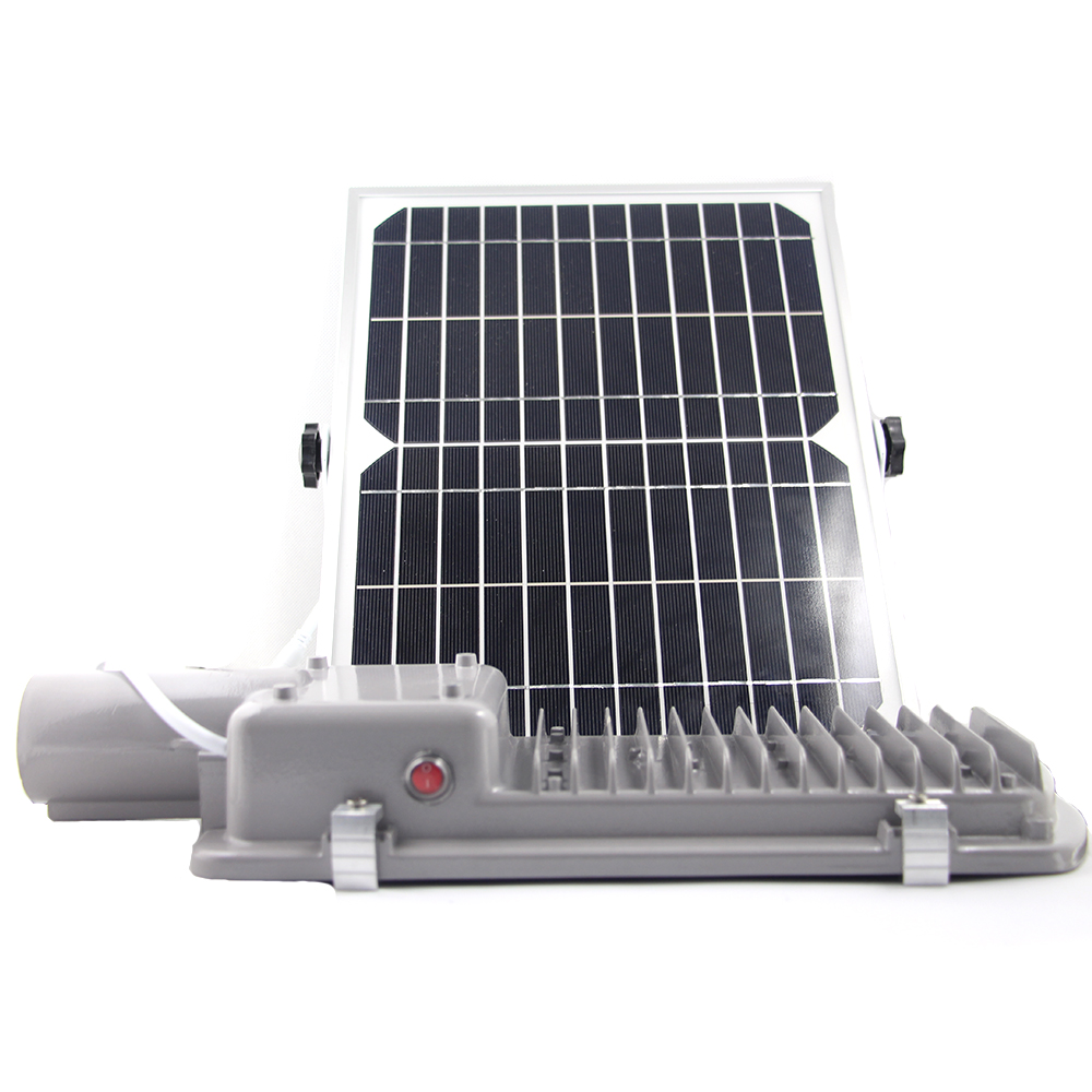 Street Light With Solar Panel: Outdoor 36 LEDs Solar Street Light Waterproof IP65 With