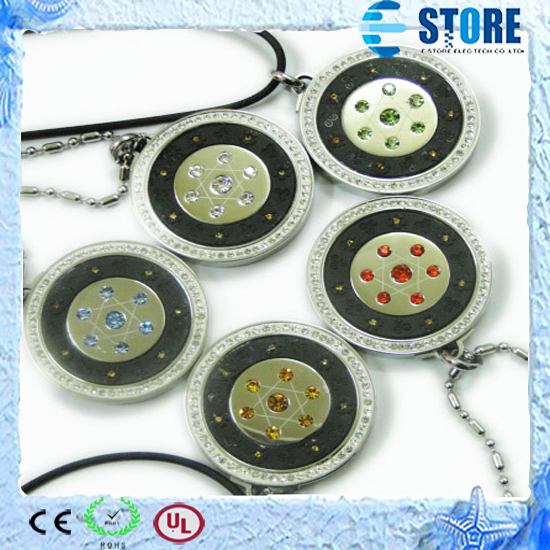 Free Shipping,Severn star energy pendants with stainless steel protector and magnet good for health<br><br>Aliexpress