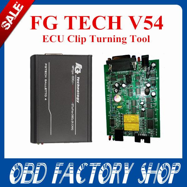 Fast free shipping 2015 newest version 100% fgtech galletto 4 Master v54 FG Tech v54 BDM-TriCore OBD better than FG tech V53(China (Mainland))