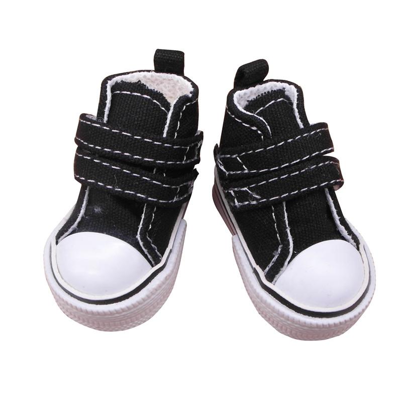 doll shoes black