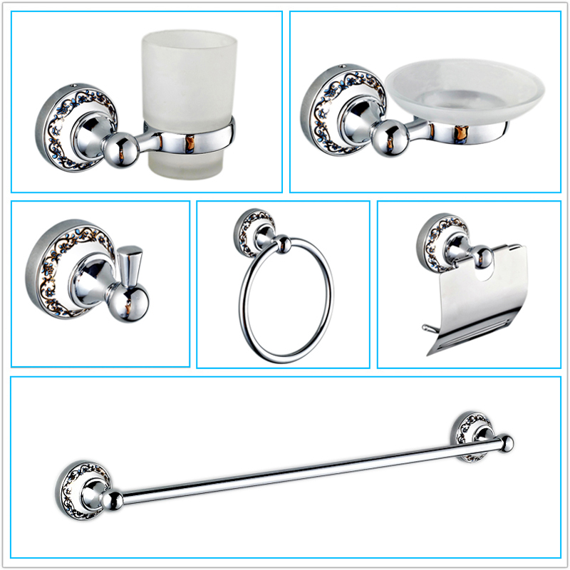 Simple The BOANN Solid Stainless Steel Bathroom Accessory Set Makes An Excellent Addition To Any Bathroom The Set Includes 18 And 24Inch Towel Bars, Toilet Paper Holder, Robe Hook And Towel Ring Constructed Of Solid T304 Stainless