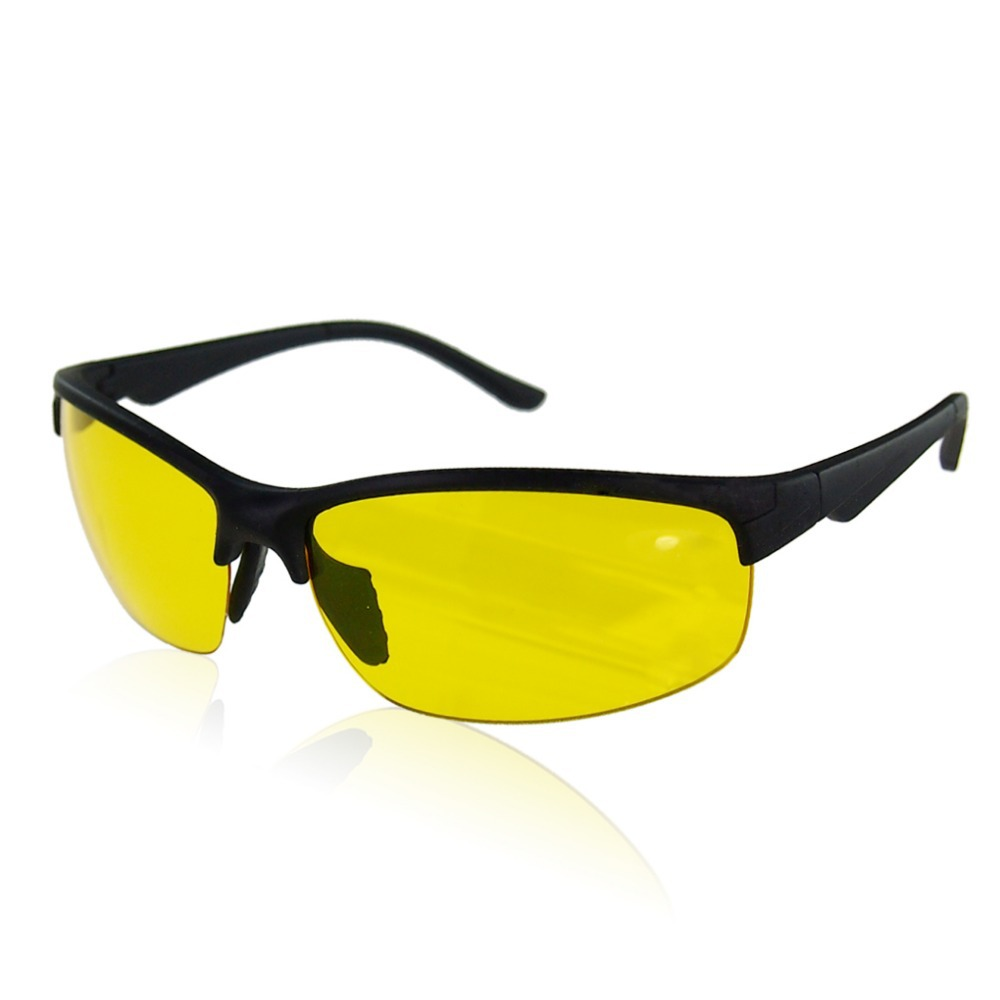 New arrival High Definition Night Vision Glasses Driving Sunglasses Yellow Lens Classic UV400 free shipping(China (Mainland))