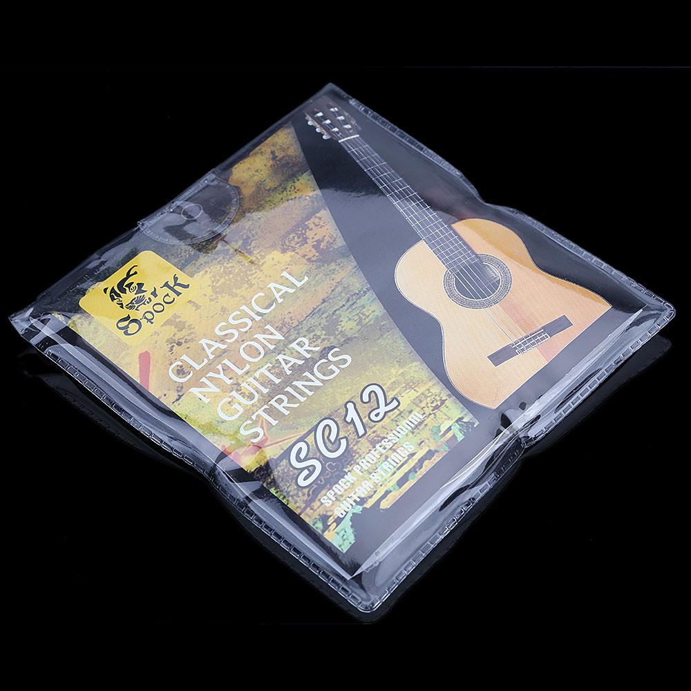 Guitar Strings Nylon Silver Plating Set Super Light for Classic Acoustic Guitar 6pcs/set(China (Mainland))