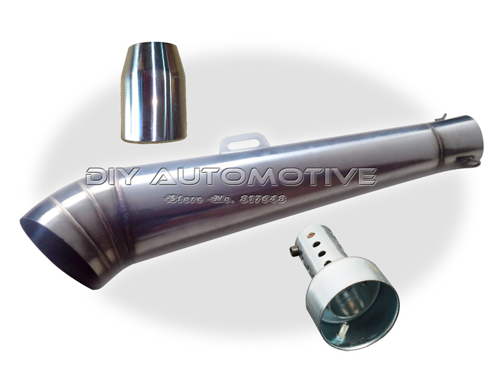 Modified motorcycle exhaust pipe stainless steel fried tube gp exhaust pipe(China (Mainland))