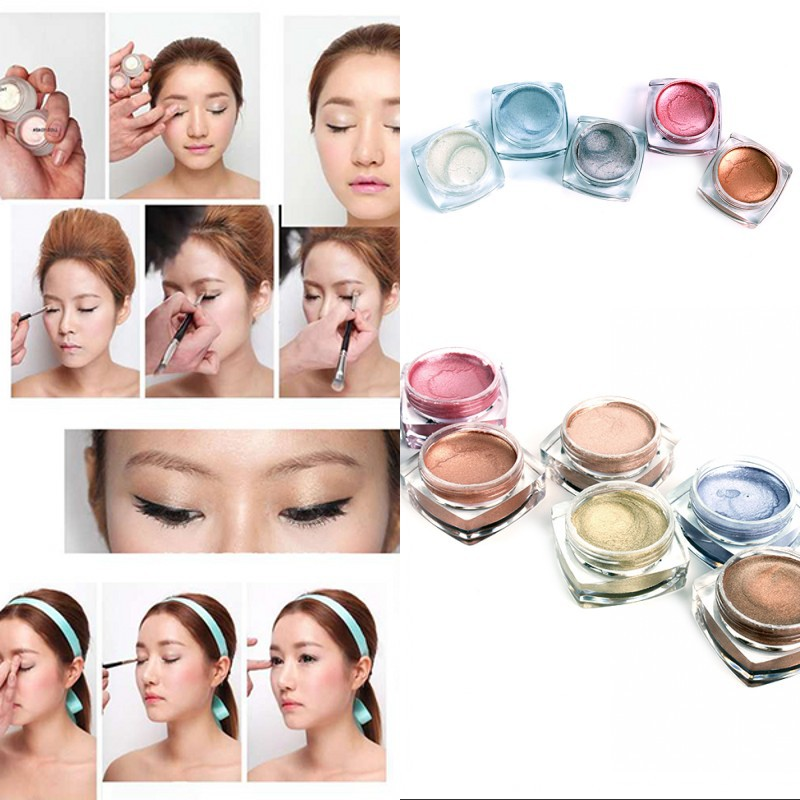 Korea Style Women Multi Colors Cosmetics Makeup Cream Eyeshadow Palette Fashion (China (Mainland))