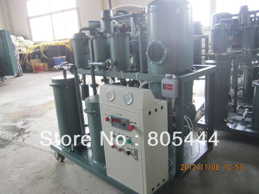 Lubricante máquina de reciclaje de aceite, residuos unidad aceite pulido industrial, reacondicionador petróleo(China (Mainland))