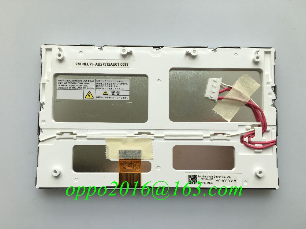 Original Matsushita LTA070B272A LTA070B270A LTA070B273A LTA070B278A 7inch LCD display screen for Mercedes Toyota G.M car monitor(China (Mainland))