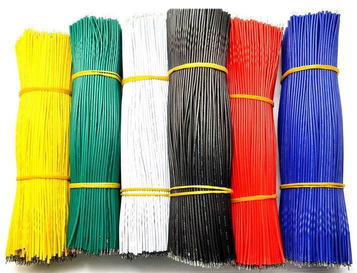 200pcs/lot 20cm 0.66tf 24AWG LED wire, LED cable,color wire, antioxidant Tin Plated Copper Wire ,easy to welding(China (Mainland))
