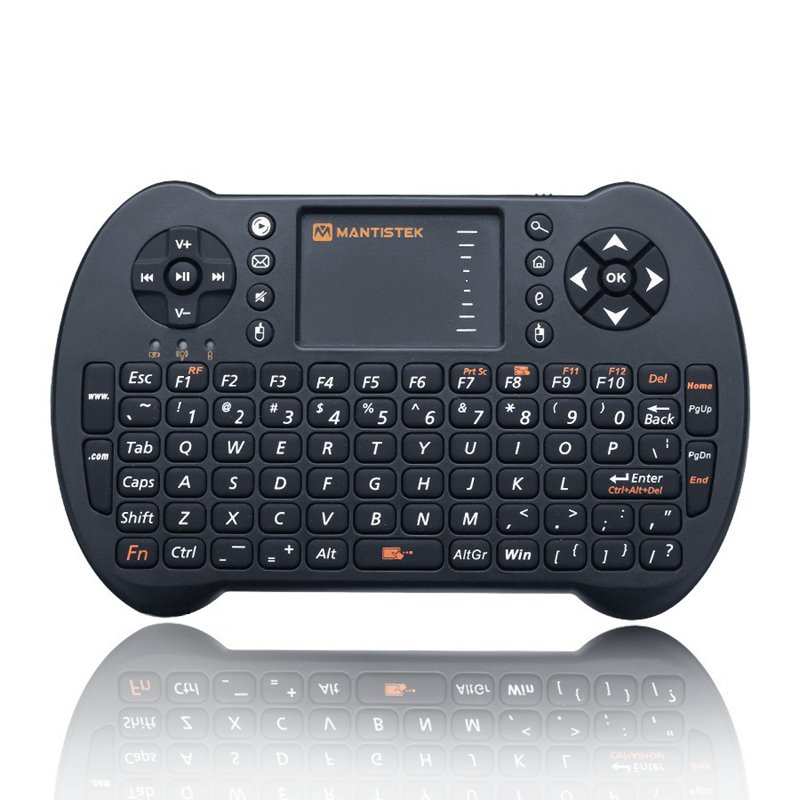 Mini Wireless Keyboard Air Mouse Touchpad 71Keys 2.4G Handheld Keyboard+Remote Control for Android PC TV Box for Mac for for PS3(China (Mainland))