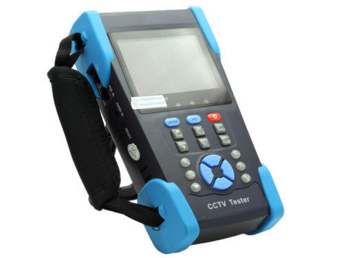 "New Arrival HVT-2611 3.5"" Full-View TFT LCD CCTV Tester PTZ PING Optical Power Meter DC 12V(China (Mainland))"