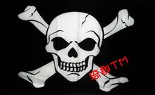 Pirate Flag 3X5 ft custom Skull and Cross Crossbones Jolly Roger FP7(China (Mainland))